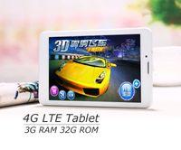 Wholesale Dual Slim Mobile Phone - Octa Core 7 inch pc tablet 4G LTE phone mobile 3G Sim Card Slot 32G 3GB RAM 8.0MP IPS WIFI GPS GSM WCDMA