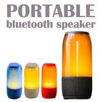 ionensprecher für großhandel-Bluetooth-Stereo-Lautsprecher BT-Freisprecheinrichtung tragbare drahtlose Lautsprecher 2000mAh Lithium-Ionen-Akku Beste Outdoor-Bluetooth-Lautsprecher