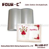 Wholesale Ship Silicone Cake Pan - Book Shape Aluminum Cake Baking Pan Mold ,Baking Supplies For Cakes ,Baking Mold Bakeware Metal Free Shipping