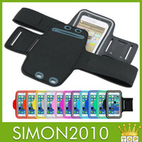 Wholesale Cellphone Sports Band For Running - Sport Armband For iPhone 6 4.7 Plus 5.5 Arm band waterproof Running GYM Pouch cover case pouches cellphone Holder Protector Belt
