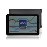 Wholesale 7 quot inch Car GPS Navigation System Sat Nav Bluetooth FM AV IN MP3 GB Newest free Maps