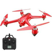 Wholesale Rc Brushless Rtf - MJX Bugs 2 B2W WIFI FPV Brushless With HD 1080P Camera GPS RC Quadcopter RTF - Red