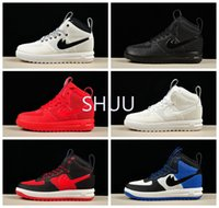 Wholesale B E - 2017 Hot Sale Men Lunar Duckboot 1 Sports Boots Running Shoes Good Quality Brand F-O-R-C-E one Outdoor Casual Sports Sneakers Eur 40-47