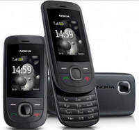 Wholesale Cell Slides - Cheap Unlocked original nokia 2220 slide cell phone battery 860mah mp3 player one year warranty Refurbished Phone