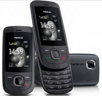 cep telefonu çalar toptan satış-Ucuz Unlocked orijinal nokia 2220 slayt cep telefonu pil 860 mah mp3 çalar bir yıl garanti Yenilenmiş Telefon