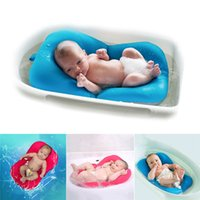 Wholesale Padded Bath Mat Pad - High Quality Anti-skid Baby Bathing Mat Baby Bathtub Shower Bed Non-Slip Security Baby Bath Pad Newborn Seat Soft Cushion