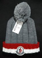 Wholesale Big Boy Hats - 2018 Unisex Winter Brand fashion classc women knitted hat men beanies big fur pom-pom gorro boy casual ski girls skull caps free shipping