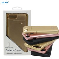 ZZYD Tragbare Fall 3000 mah 4000 mAh Energienbank Handy externe batterie power case für iphone 6 6 plus 7 7 plus 8 8 plus