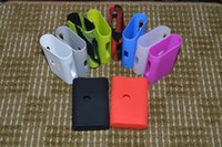 Wholesale Bags Silica - NEW Silicone Case Silicon Cases Bag Colorful Rubber Sleeve Protective Cover Silica Gel Skin for Kanger kangertech Subox Nano Nebox Kit