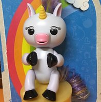 Wholesale Cheap Christmas Gifts Toy - Cheap Fingers Unicorn gigi Finger Monkeys Interactive Unicorn Touch Smart Induction Toys Kids Christmas Gifts Free DHL with Retail Packaging