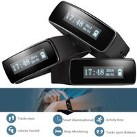 Wholesale Xiaomi V5 - V5 Intelligent bracelet sport waterproof Passometer Message Reminder Health monitoring alarm clock to remind xiaomi pulsera