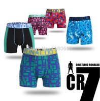 Wholesale Wholesale International Brands - 2PCS lot New next Children Cotton Underwear Boxer Briefs Boys Cotton Panties International brands CR7 Boy cotton Cuecas