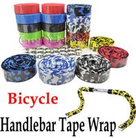 Wholesale Bar Tape Cork - Bicycle Cycling Handle Belt Bike Cork Handlebar Tape Wrap Cover +2 Bar Plug Free Shipping Wholesale