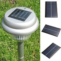 Wholesale Diy Solar Toys - Portable Mini 6V 0.4A Solar Panel Bank Solar Power Light Lamp Panel Solar System Module Home DIY Panel For Smart Cell Phone Toy Charger