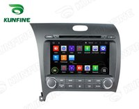Wholesale Forte Wheels - Quad Core 1024*600 HD Screen Android 5.1 Car DVD GPS Navigation Player for Kia CERATO K3 FORTE 2013 Radio 3G Wifi steering wheel control