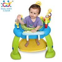 Wholesale Toy Electric Organ - Baby Jumping Bouncer Zoo Rocker Seat Chair Safe Play Area Learning Toys with Electronic Organ Bounce Around Activity Center Gift