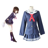 Wholesale Japanese Female School Uniforms - Anime Saenai Heroine No Sodate-Kata Cosplay Kasumigaoka Utaha Katou Megumi Suit Japanese School Uniform Halloween Party Wear