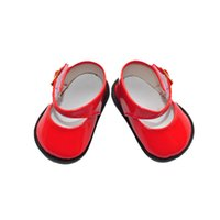 "Wholesale Ballet Shoes Girls - Wholesale-free shipping factory price Environmental protection 18"" INCH DOLL SHOES for AMERICAN GIRL red ballet shoe BX769"