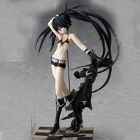 Spedizione gratuita Black Rock Shooter Action Figure Hatsune Miku Giocattoli Anime Figma 1/8 Scala in PVC Figure