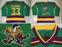 Wholesale Stockings Nylon Xl - #33 Greg Goldberg Jersey,1996-06 Anaheim Mighty Ducks Movie D-5 Hockey Jerseys Greg Goldberg Mighty Ducks Jersey IN STOCK Green