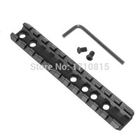 Wholesale picatinny tactical accessories online - 2015 New Strong Tactical Sporting Picatinny Weaver Rail Scope Mount Screws Wrench Hunting Accessories Width mm Length mm order lt no