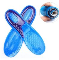 Chaussure Silicone Gel Pad Insert Semelle Confortable Coussin Anti-Vibration Souple Sport Chaussure Semelle Pad Pour Hommes Femmes Chaussure Semelle Run Pad KKA2644