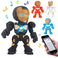 Wholesale c speakers for sale - Group buy Cute C Iron Man Mini Portable Wireless Bluetooth Speaker New Robot Design Speakers With Support TF FM Radio Handsfree