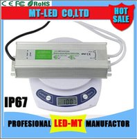 Wholesale electronics drivers for sale - AC to DC V W A A A A A Waterproof IP67 Electronic Driver Outdoor Use Power Supply Led Strips Transformer Adapter for any led