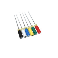 Wholesale Dental Niti - Quality Guaranteed 5 Pack NITI Flexible Hand Use Dental Root Canal K-Files #015-040 25mm Free Shipping