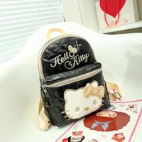 09ff0b20d97c Hello Kitty Children  S School Bags Pu Leather Waterproof Cute Shoulder Bag  Travel Bags For Boys Girls School Backpack Mochila