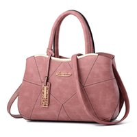 Wholesale Wife Quality - Women bag lady's handbags big bag ladies made of PU leather women messenger bags designer high quality Gifts for wife