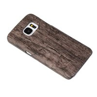 Wholesale Iphone Leather Snake - Wood Leather Hard Case Man design Crocodile Woven For Galaxy S6 Edge Plus A3100 A5100 A510 Note5 Note 5 Snake Carbon Fiber Wooden Cover Skin