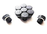 Wholesale Plug Ip67 - Gore replacement vent IP67 IP68 IP69K waterproof M12*1.5 vent plug screw-in vents screw vents WATERPROOF VAVLE with black color