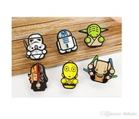 Wholesale Diy Paper Clip - Star Wars Document holders Drying clips cute Mini Clips Darth Vader Stromtrooper Yoda Photo Paper Craft DIY Clips