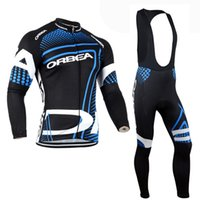 Wholesale Orbea Long Sleeve Cycling Jerseys - 2014 ORBEA Bike Jersey Cycling Clothing Jersey  Jacket Long sleeve,bib pant,trousers,port Clothes s-3XL or mixed size