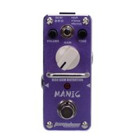 Wholesale High Gain Distortion - New AROMA AMC-3 MANIC High Gain Distortion Mini Analogue Effect True Bypass