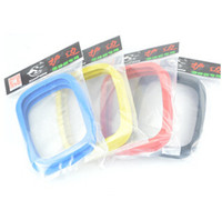 Wholesale Maple Skate - Wholesale-2pcs New Freeline Skateboard Driftboard Skate Accessories Rubber Cover Edge Guards 4 Colors For Extreme Sport PP Maple Board