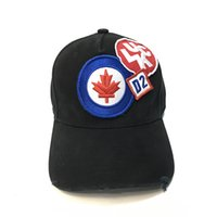 Wholesale Custom Embroidery Snapback Hats - Hot sell cotton embroidery letter d2 baseball cap snapback caps fitted Maple Leaf casquette hat for men custom hats