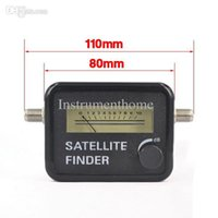 Wholesale Benchtop Tools - Wholesale-Satellite Finder For SatLink Sat Dish LNB DIRECTV Signal Automatic Meter Satellite Pointer Receiver Searcher Satfinder Tool