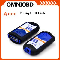 Wholesale Nexiq Bluetooth - 2016 A+Quality NEXIQ 125032 USB Link + Software Diesel Truck Diagnose Interface NEXIQ truck diagnostic tool NEXIQ USB Link