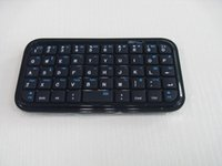 Huayou PS123  Wireless Bluetooth 3.0 Mini Ultra Slim Keyboard Pad for Tablets PS3 Apple TV PC!2015 New!