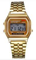 Wholesale Tungsten Digital Watch - Free shipping F-91W watches Fashion Ultra-thin LED Wrist Watches F91W Men Women Sport watch