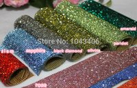 Wholesale Crystal Rhinestone Hotfix Ss6 - free shippment! hotfix rhinestones crystal trim!rhinestone trimming mesh heat transfer ssuper close 2mm ss6 stones and crystal