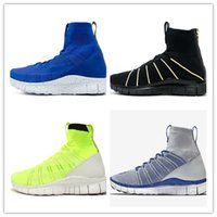 Wholesale Blue Green Obsidian - 2017 Hot Sale Free Mercurial Superfly SP Dark Obsidian HTM Volt 5.0 in fly line help Black Men Running Shoes Boots Men Sneakers size 36-45