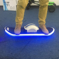 Wholesale Drift Wheel - One Wheel Drift Bluetooth Hover Board Smart Balance One Wheel Self Balancing Electric Scooter With LED Light Electric Haverboard Scooter