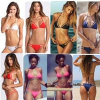Wholesale Trade Swimwear - 2015 new triangular mesh sexy bikini bikini ladies swimwear hot sell swimwear female foreign trade