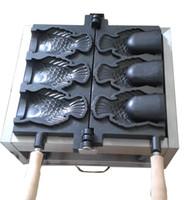 Wholesale Used Ice Fishing - Commercial use Ice cream Taiyaki maker fish cone waffle machine