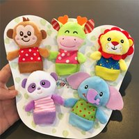 HAPPY MONO Juguetes para bebés Finger Puppets Lovely Cute Plush Toy Doll Nueva Llegada Diciembre Hot Sale Free Shipping Birthday Festival Gift Cartoon