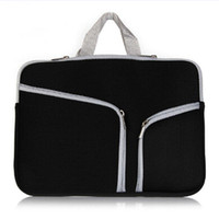 Wholesale 13 inch laptop wholesale china online - Slim Laptop Protective Case Zipper Bag Sleeve Pouch Handbag For Macbook Air Pro Retina inch Storage Bag Travelling Bags Durable