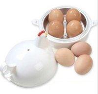 Wholesale Chicken Steamer - Free Shipping Portable Chicken Hen Egg Cooker Boiler Steamer Kitchen for 4 Eggs #1030 A3